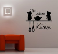 KITCHEN SHELF vinyl wall art quote sticker decal ...