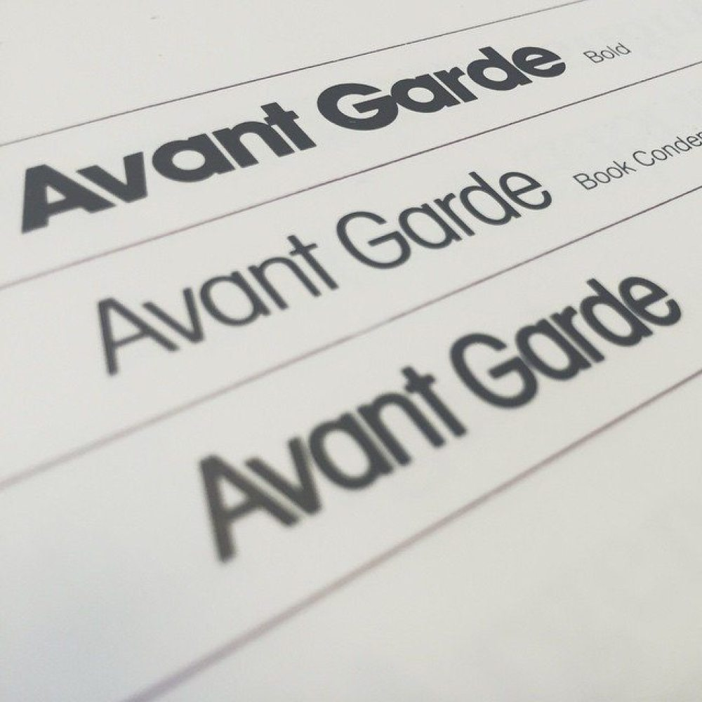 #avantgarde #type #font #typography #graphic #graphicdesign