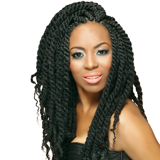 ROYAL SILK BRAID AFRO TWIST