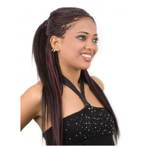 Protein Silk Fusion Hair Extensions