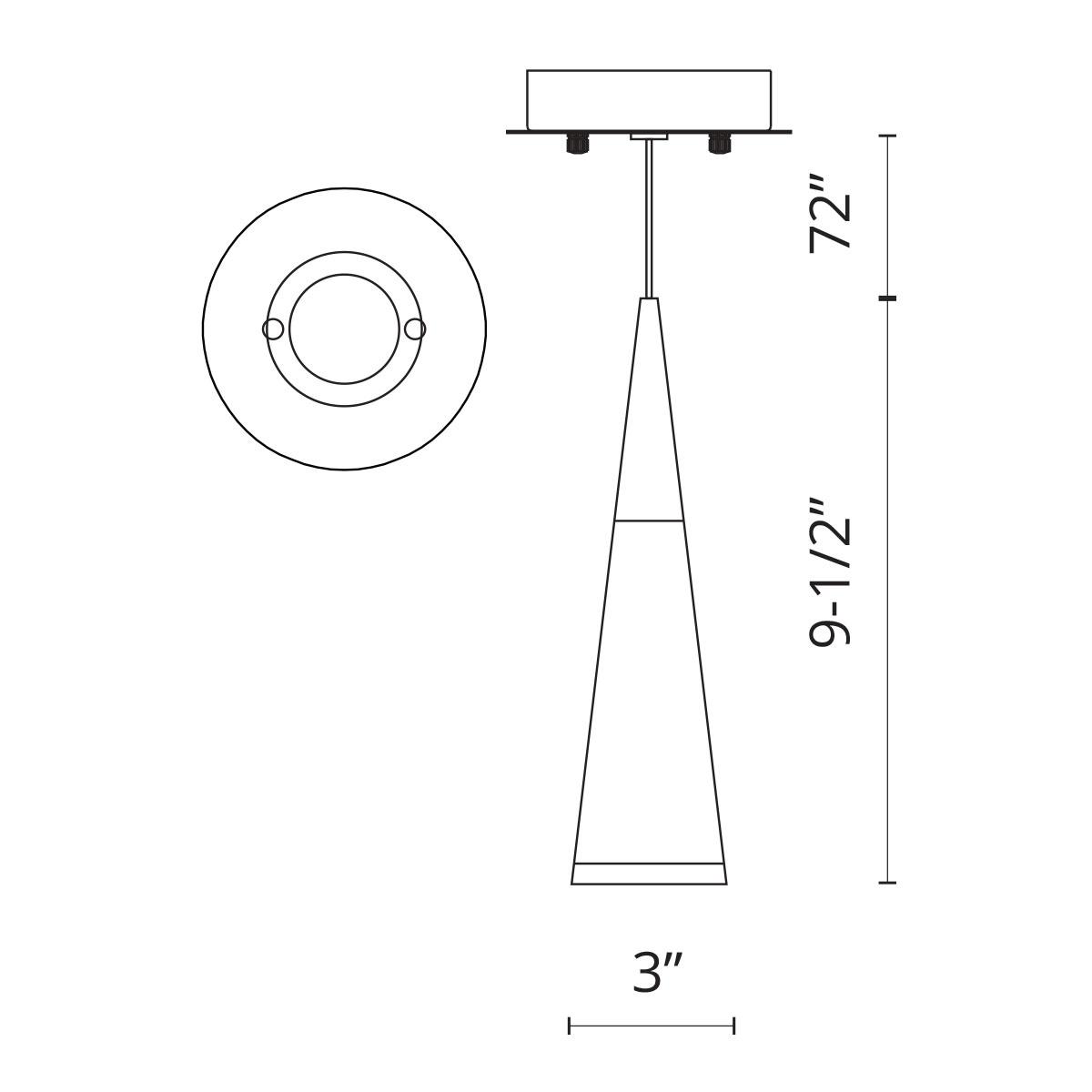 Led Lamp Pendant Ch Led