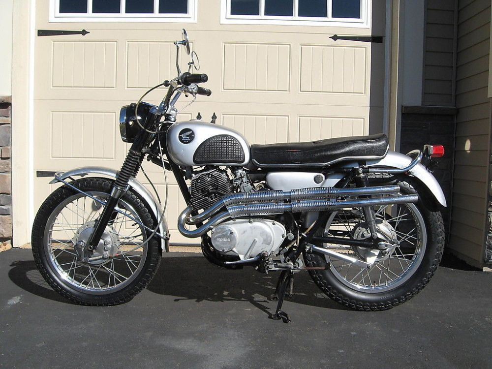 medium resolution of 1966 honda cl77 cl 77 cl72 cl450 scrambler small brake example