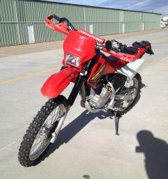 honda crf230f dirt bike electric start lights 250 400 [ 1600 x 1200 Pixel ]