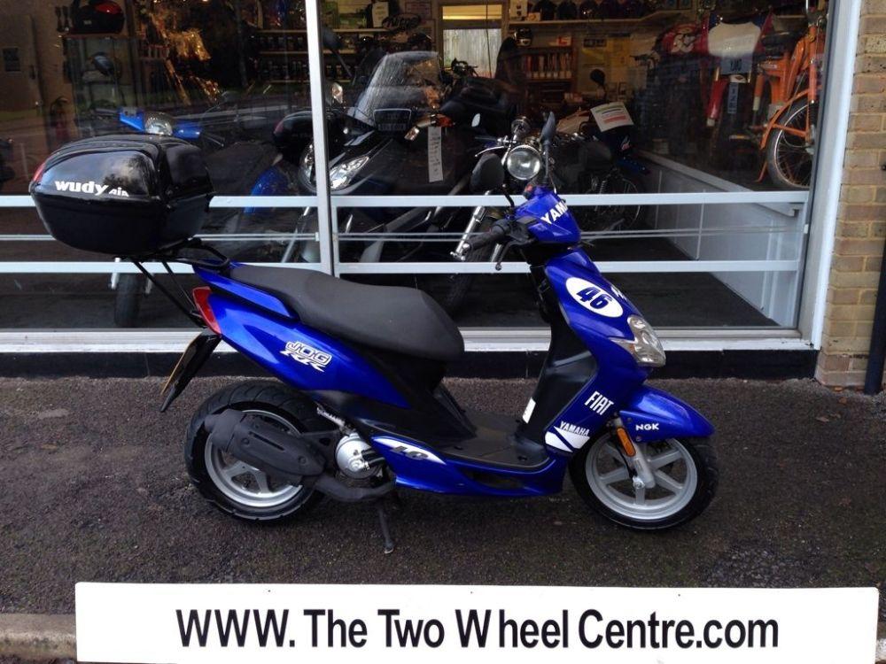 medium resolution of yamaha jog r blue 2003 scooter moped top box mot yamaha majesty yamaha fz1