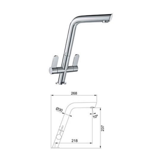 Filter Housing: Franke Filter Housing Kit