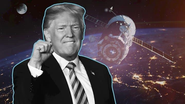 """Photo of A força espacial de Trump: Agora o espaço é um """"domínio de combate"""""""