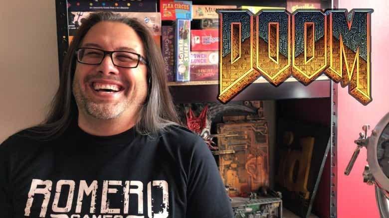 Game designer de DOOM John Romero
