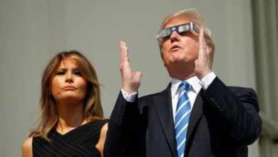 """Foto de Trump ataca Nasa e afirma que a lua é """"uma parte"""" de Marte"""