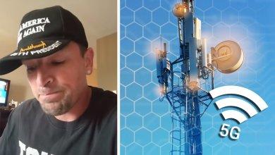 Foto de Dano que 5G pode causar segundo técnico que instala antenas