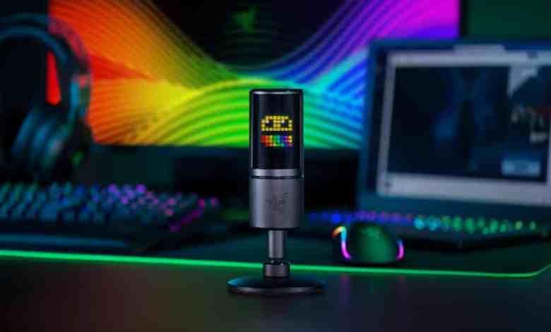 Razer lança o primeiro microfone que reage com emoticons 1