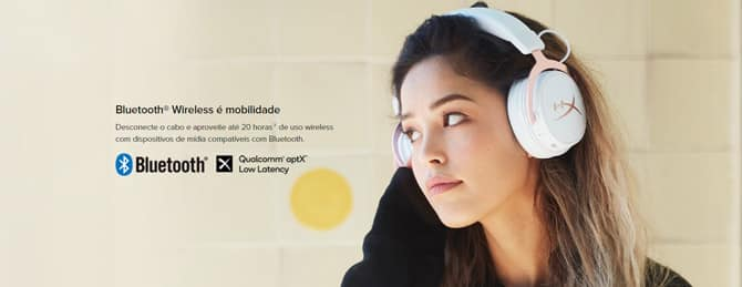 HyperX lança edição Rose Gold do headset Cloud Mix