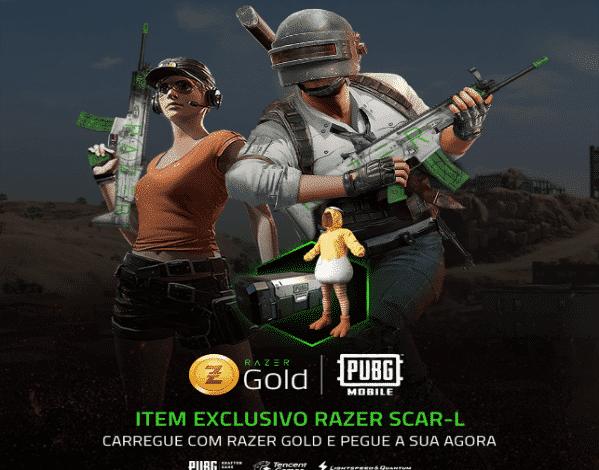 Razer Gold começa o ano com promoção que libera itens exclusivos no PUBG Mobile 1