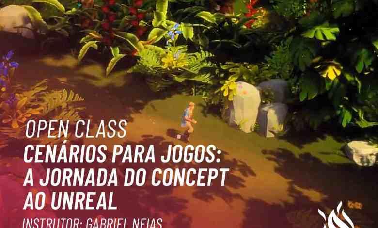 SAGA oferece aula aberta sobre desenvolvimento de cenário para games nesta sexta-feira, às 19h 1