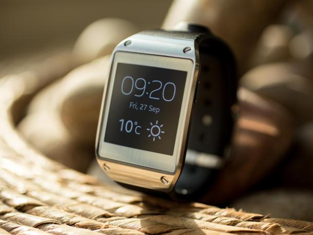 O relógio inteligente da Samsung