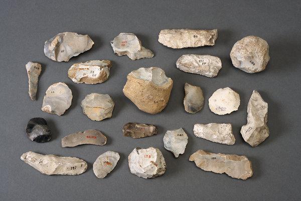 terra civilização tipo zero pedras lascadas