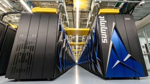 O supercomputador mais poderoso do mundo preparado para IA