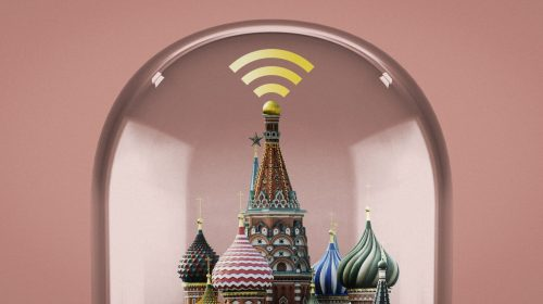 Rússia desconectada da internet global