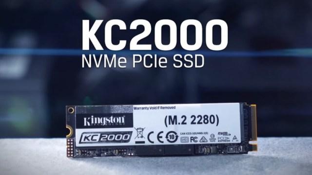 Nova geração de SSD: Kingston lança KC2000, da  NVMe PCIe