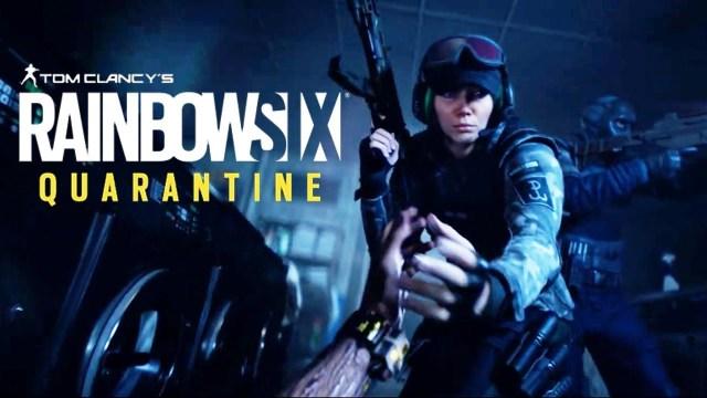 Rainbow Six Quarantine anunciado pela Ubisoft
