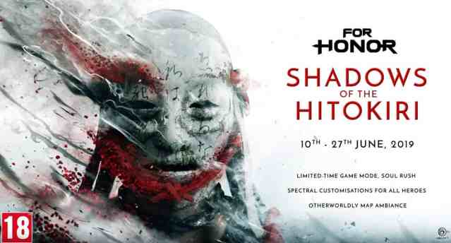 For Honor: Shadows of the Hitokiri, evento por tempo limitado!