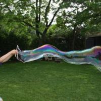 Domácí bublifuk pro obří bubliny