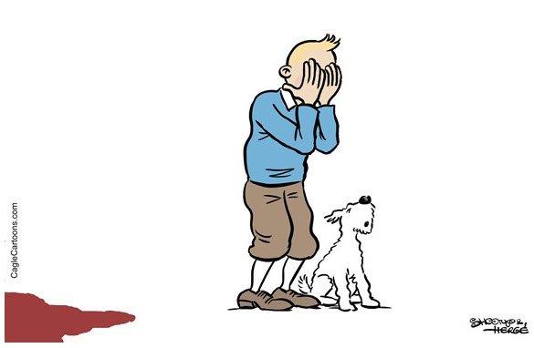 Brusel v barvách: Smutek a černý humor v 11 výmluvných ilustracích