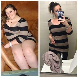Jak zhubnout? Inspirujte se obrázky před a po zhubnutí!