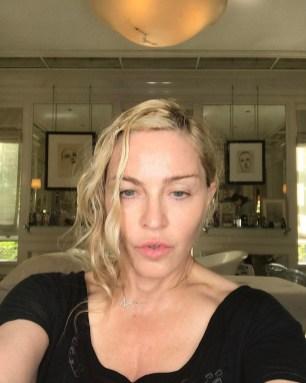 Madonna před úpravou...