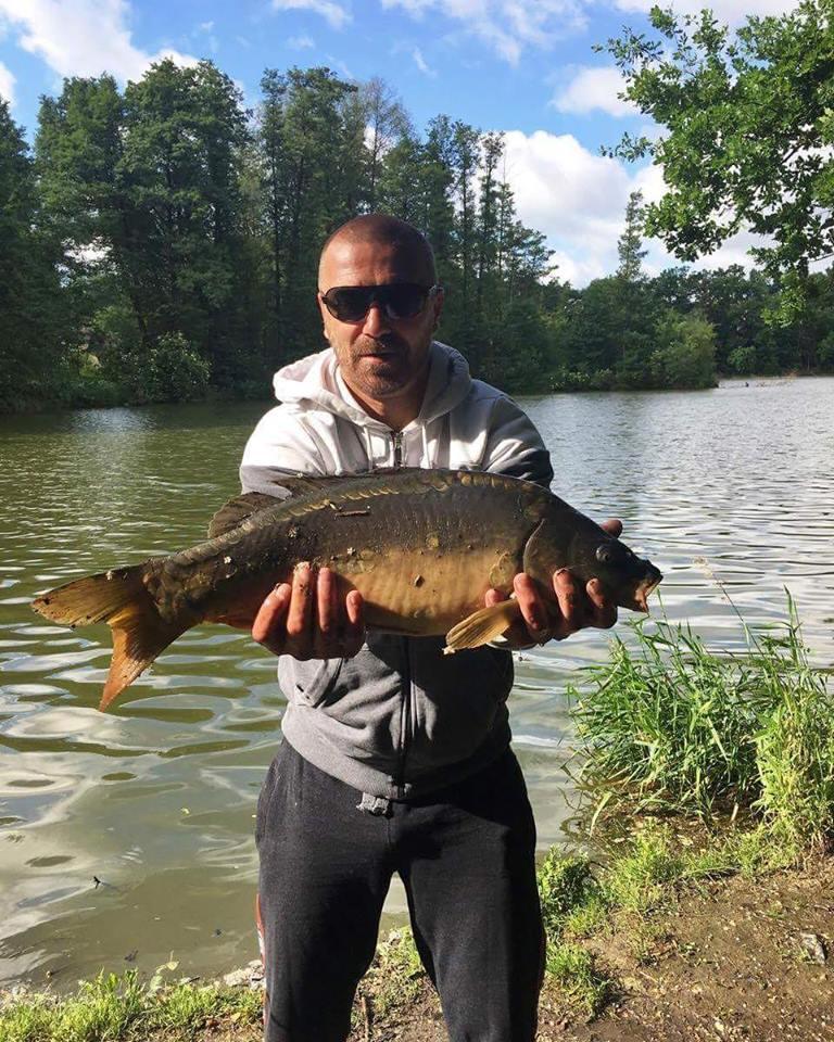 To je život! Tomáš Řepka relaxuje na rybách...