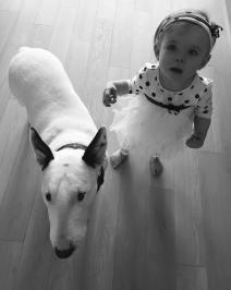 Diana Kobzanová a její pes Mia