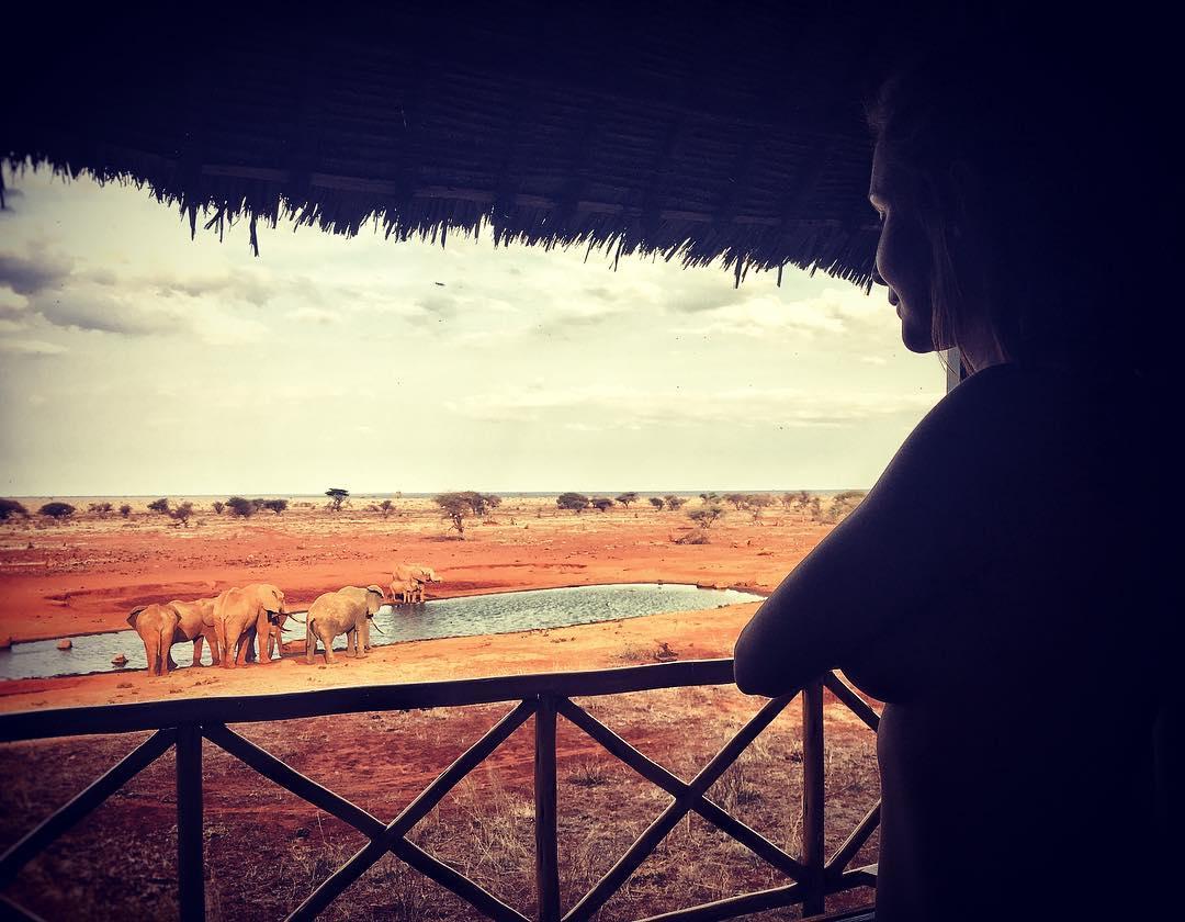 Keňa připojte stránku