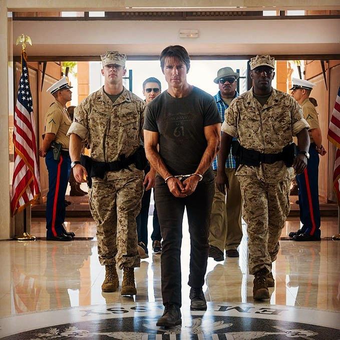 Tom Cruise se zranil při natáčení Mission Impossible, má zlomený kotník