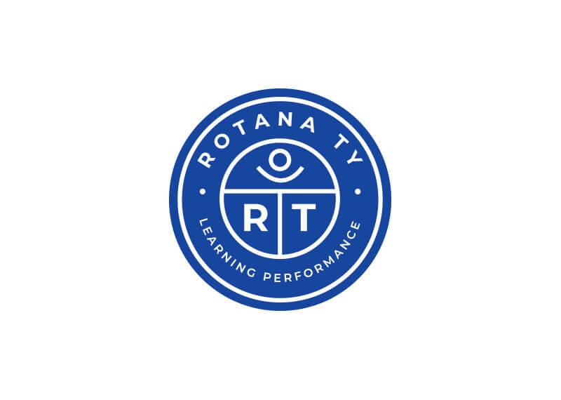 sello del logotipo de supro portfolio rotana ty
