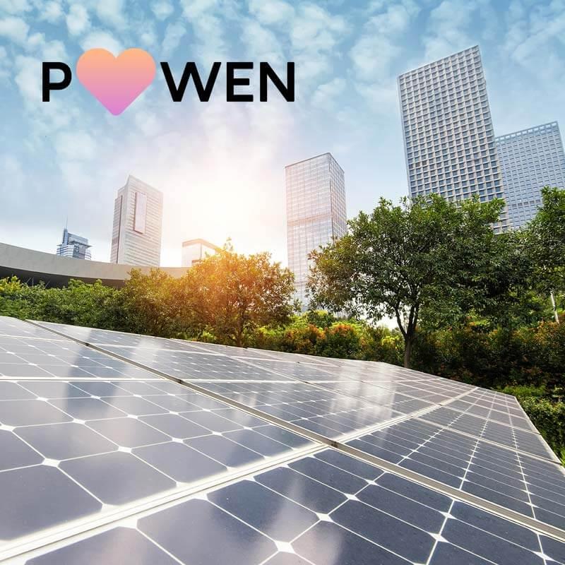 supro projects powen solar panels