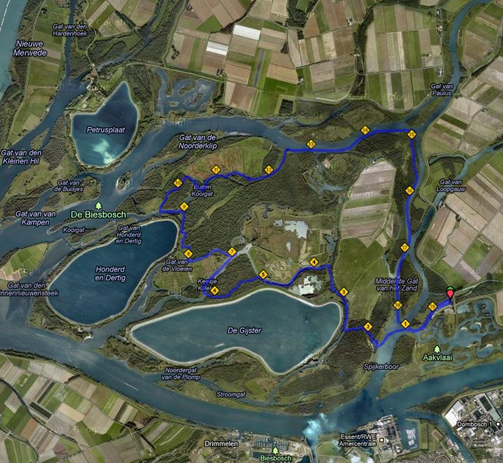 NoordBrabant  Stand Up Paddle routes
