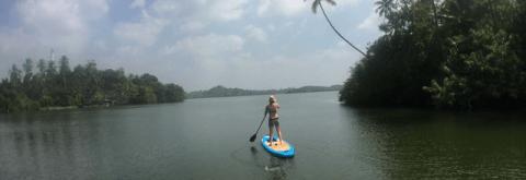 Stand Up Paddling in Sri Lanka