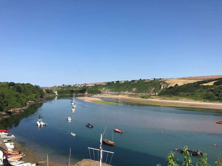 SUP tour down the Avon Valley to Bantham and Bigbury