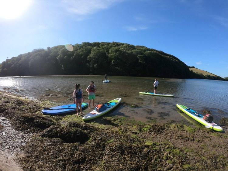 Avon river SUP and walk tour