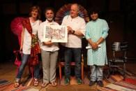 Consegna del Premio Agorà Med a Mario Tronco e Sanjay