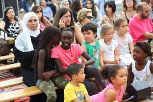Il giovanissimo pubblico del Suq
