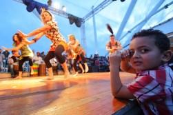 Danze sul palco esterno