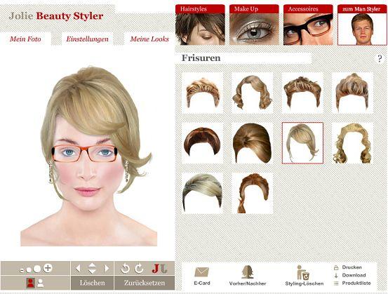 Haarfarben Testen Online Foto – Trendige Frisuren 2017 Foto Blog