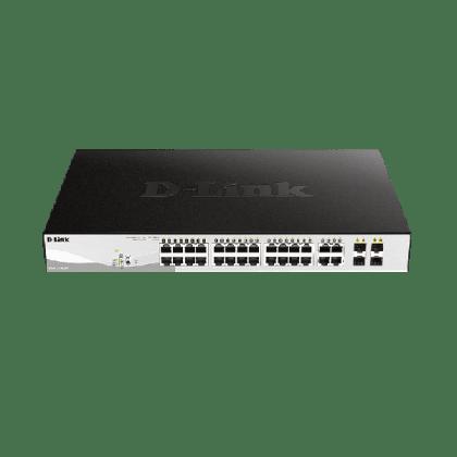 D-link 28-Port Gigabit Smart PoE Switch