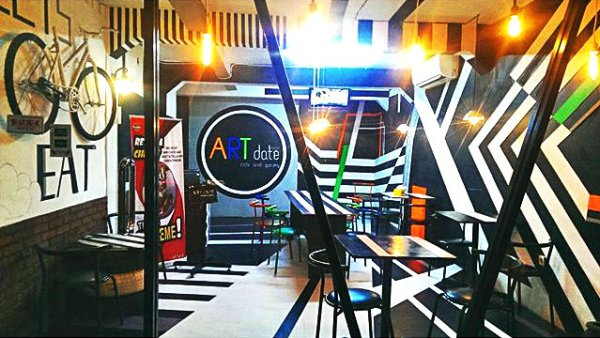 Artdate Cafe Inside