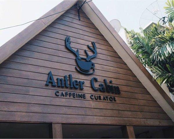 Antler Cabin gate