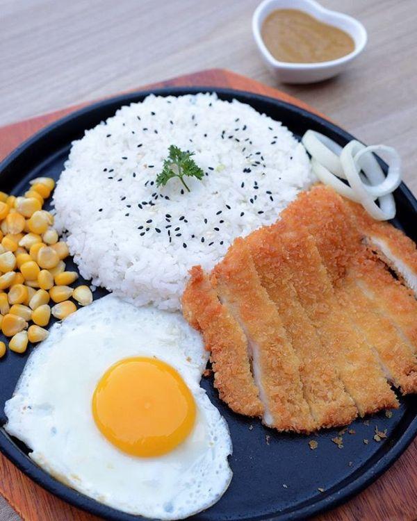 Platter Chicken curry