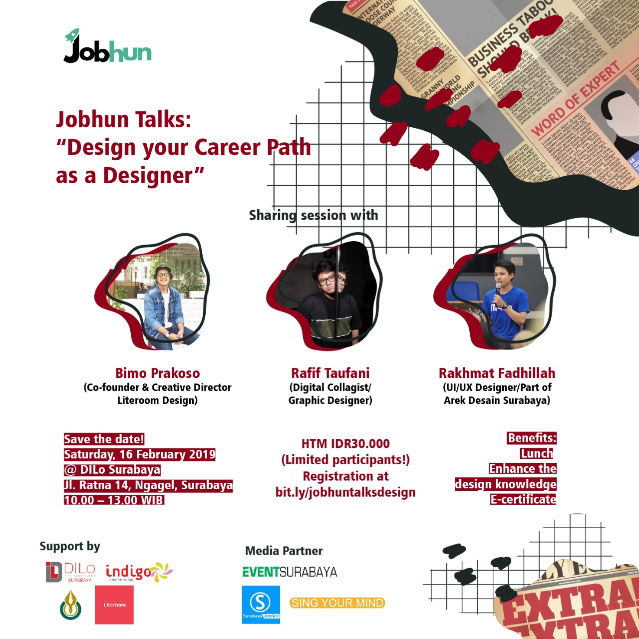 "Jobhun Talks: ""Design Your Career as a Designer"""