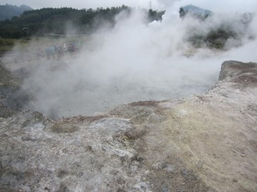 Sikidang Crater: Boiling Water