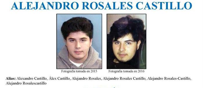Alejandro Rosales Castillo, feminicida, FBI 011117