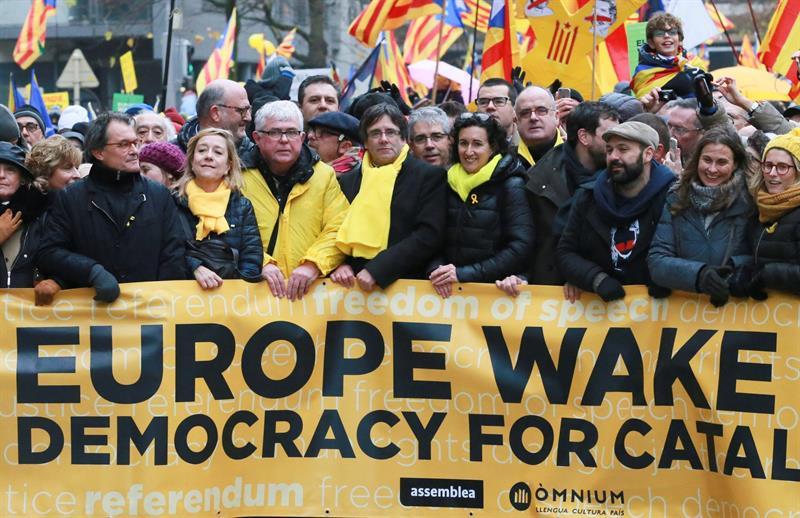 Puigdemont Bruselas